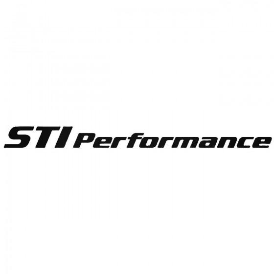 Sti Performance S Vinl Car...