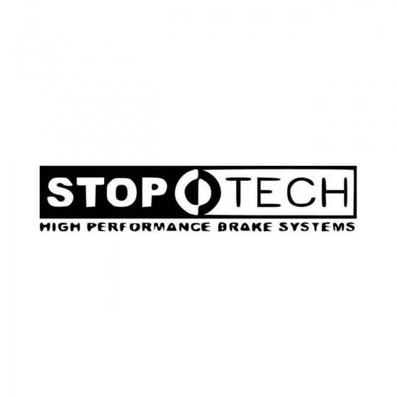 Stoptech Brakes Vinyl Decal...
