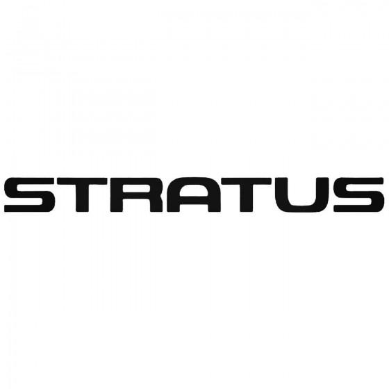 Stratus Graphic Decal Sticker