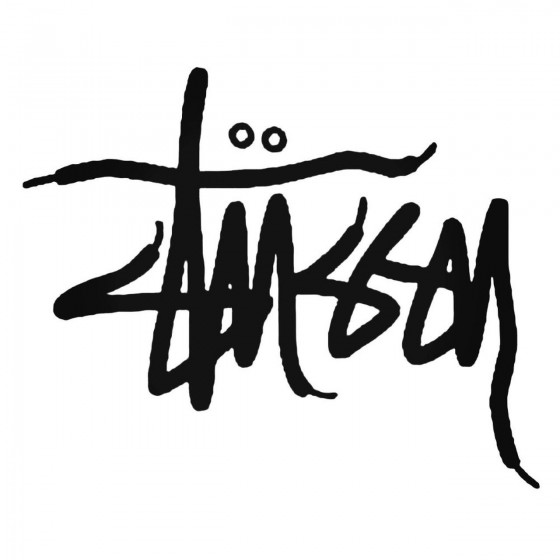 Stussy Laces Decal Sticker