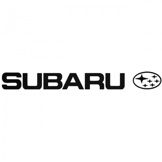 Subaru 2 Graphic Decal Sticker