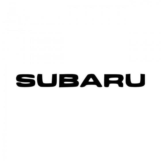 Subaru Aftermarket Vinyl...