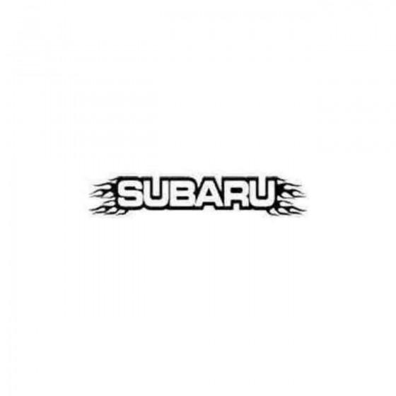 Subaru Flaming Car Brand...