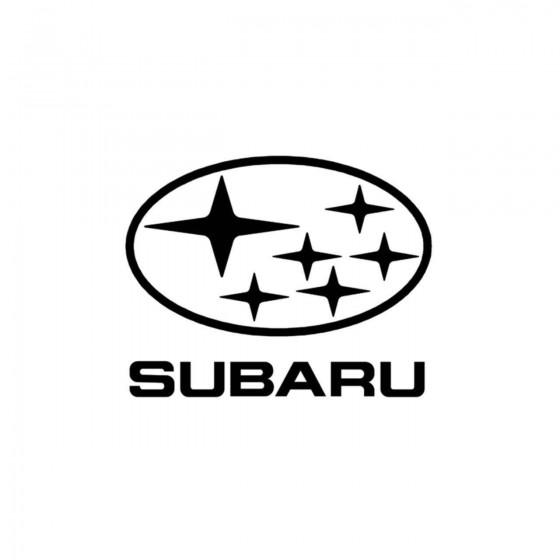 Subaru Logo 2 Vinyl Decal...