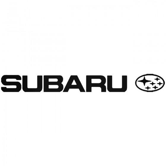 Subaru Logo 3 Vinyl Decal...