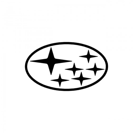 Subaru Logo Classique Vinyl...