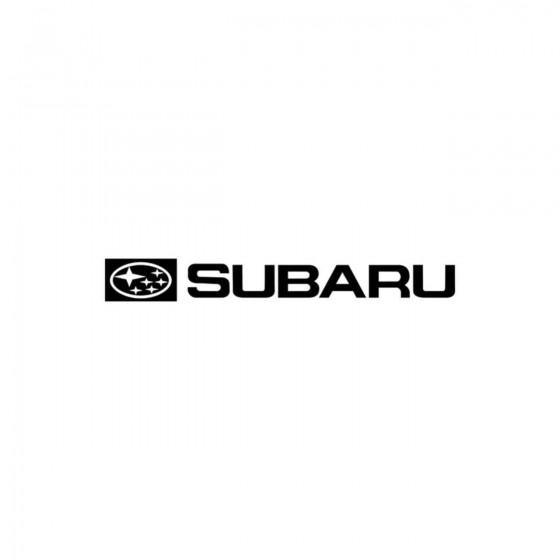 Subaru Logo Plein Vinyl...