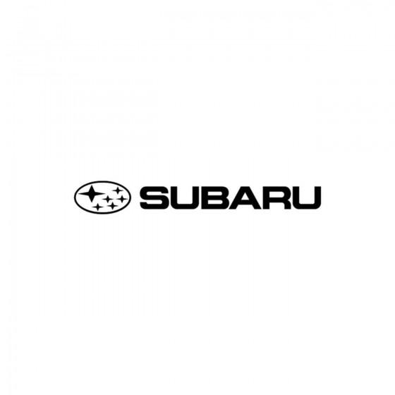 Subaru Logo Vinyl Decal...