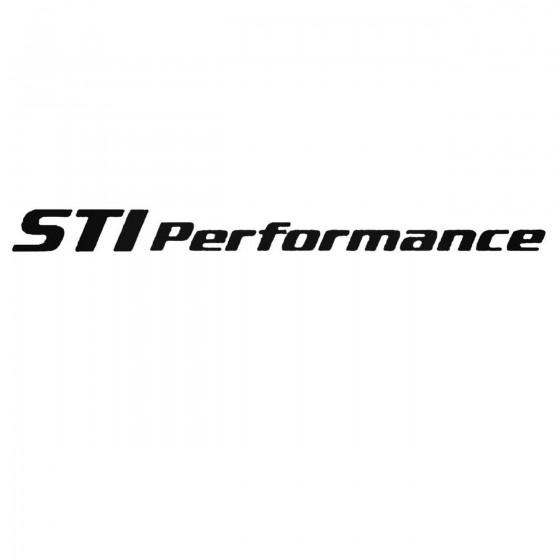 Subaru Sti Performance Set...