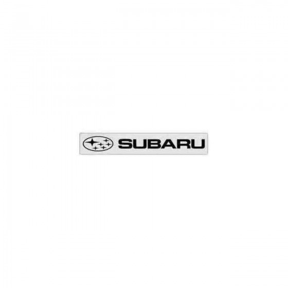 Subaru Windshield 2 Decal...