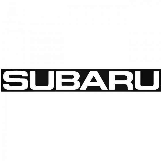 Subaru Windshield Banner 2...