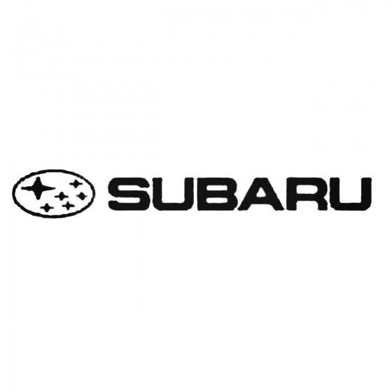 Subaru X2 Decal Sticker