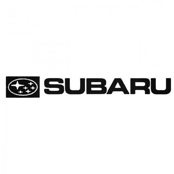 Subaru X3 Decal Sticker