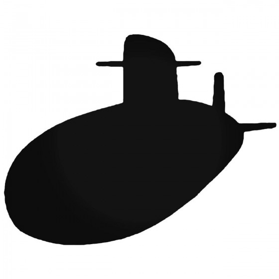Submarine Decal Sticker