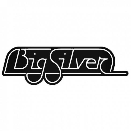 Big Silver Caravan Sticker