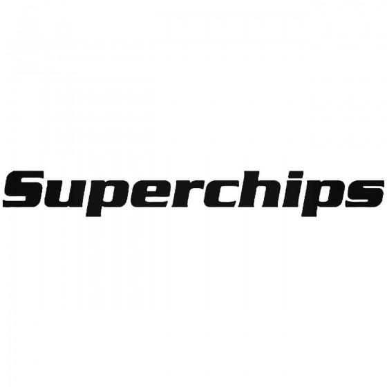Superchips Vinyl Decal Sticker