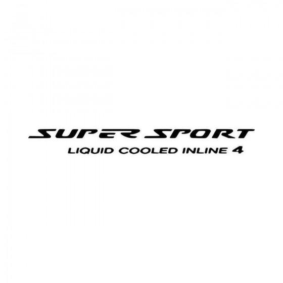 Supersport Ver Aftermarket...