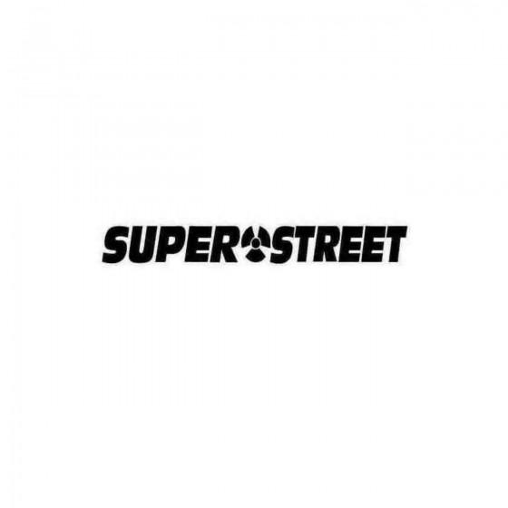 Super Street S Vinl Car...