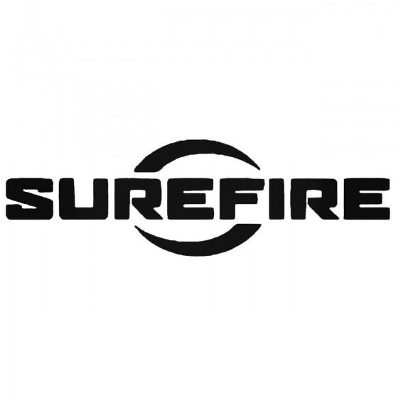 Sure Fire Surefire Decal...