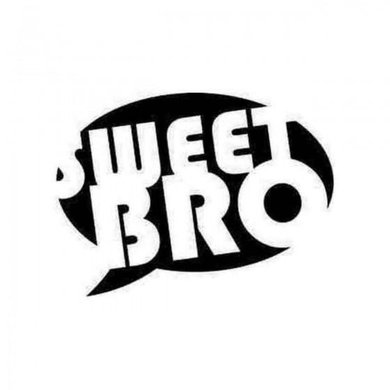 Sweet Bro Jdm Style 1 Decal...