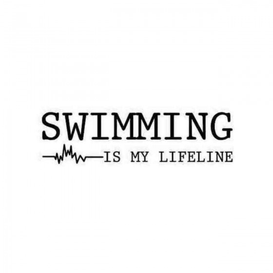 Swimming Is My Lifeline...