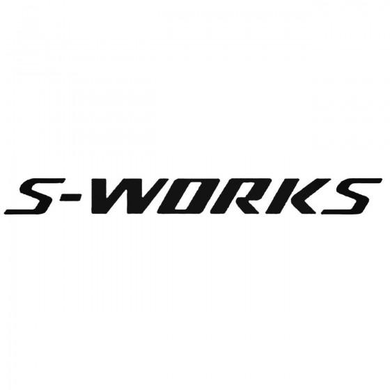 S Works Decal Sticker