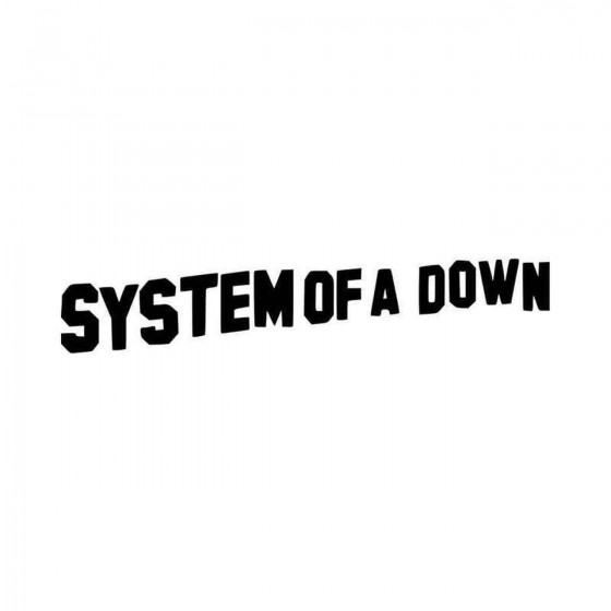 System Of A Down Band Logo...