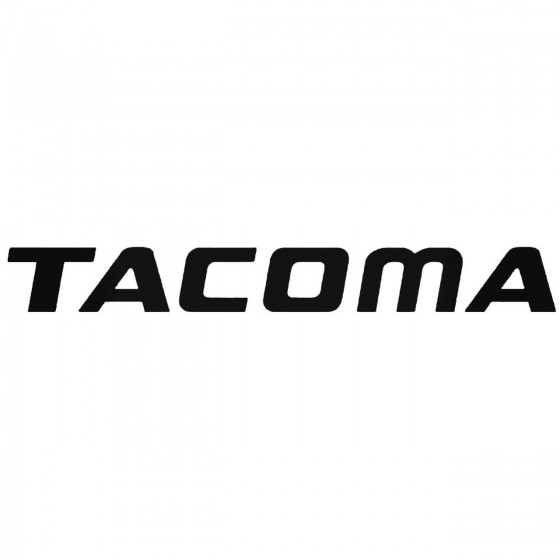 Tacoma Graphic Decal Sticker