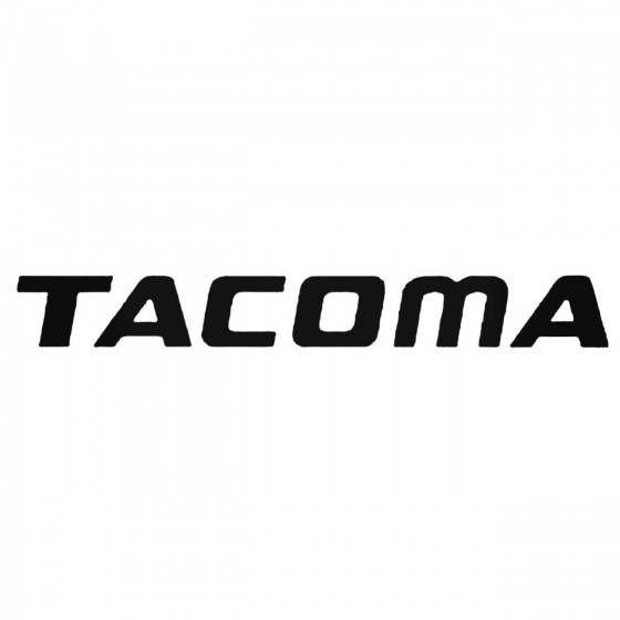 Tacoma Toyota 2 Pack Decal...