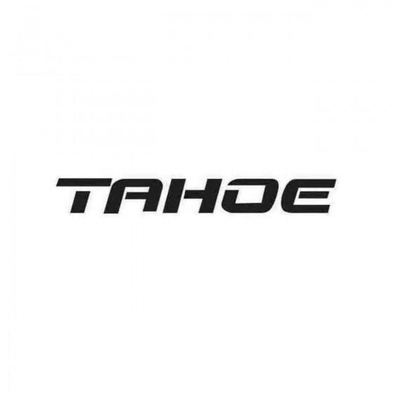 Tahoe Graphic Decal Sticker