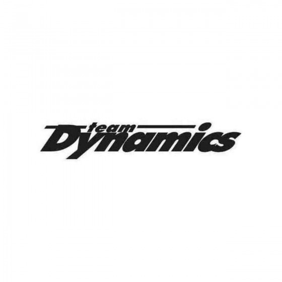 Team Dynamics Graphic Decal...