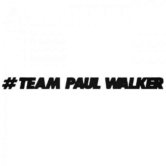 Team Paul Walker Jdm...
