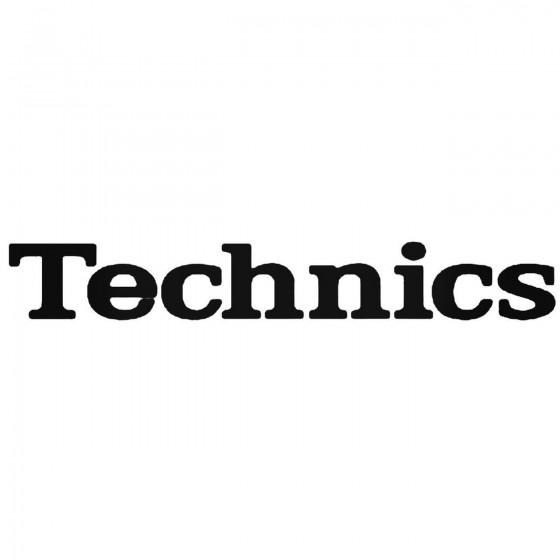 Technics Audio Logo Vinyl...