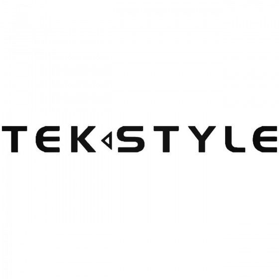 Tek Style Vinyl Decal Sticker