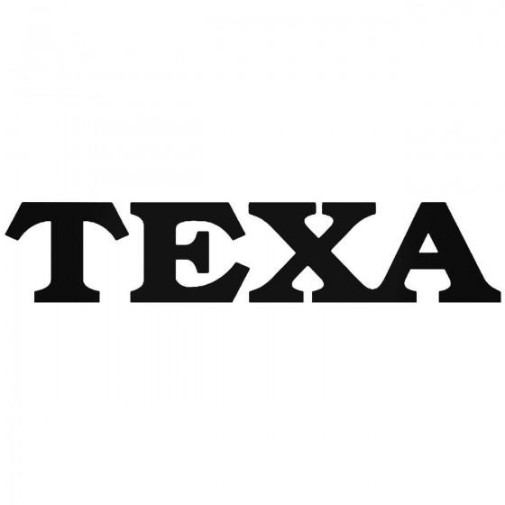 Texa Diagnostics Vinyl...
