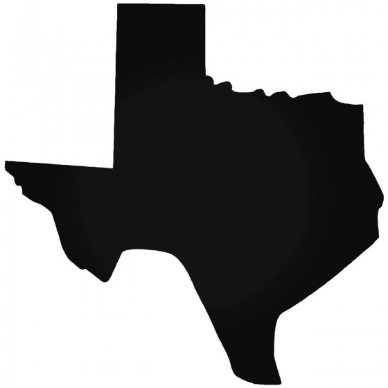 Texas Home State Decal Sticker