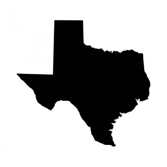 Texas Tx State Vinyl Decal...