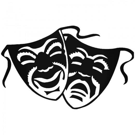 Theater Mask Drama 12 Vinyl...
