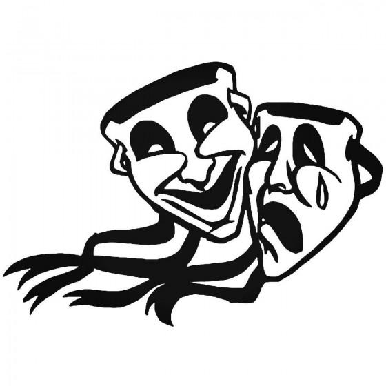 Theater Mask Drama 3 Vinyl...