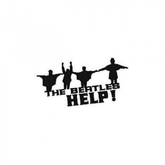 The Beatles Help Silhouette...