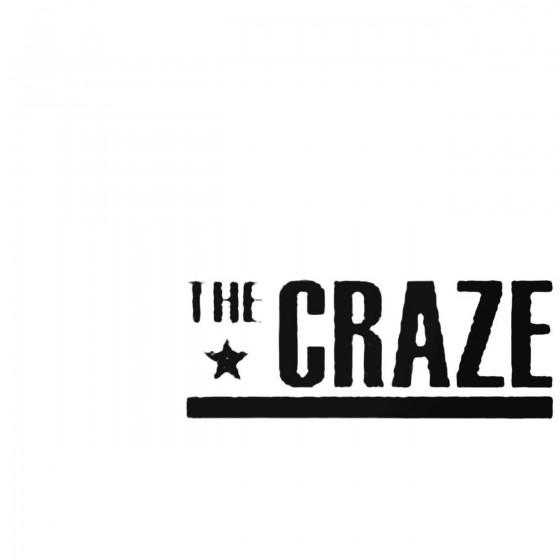 The Craze Decal Sticker