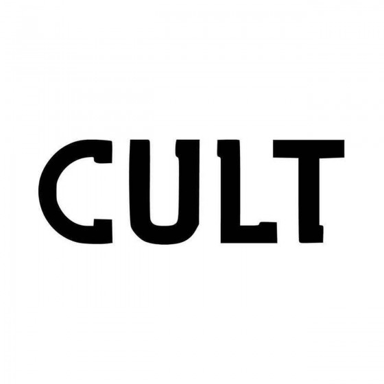 The Cult Rock Band Logo...
