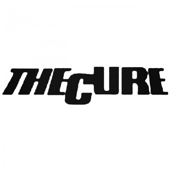 The Cure 1 Decal Sticker