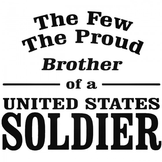 The Few The Proud Brother...