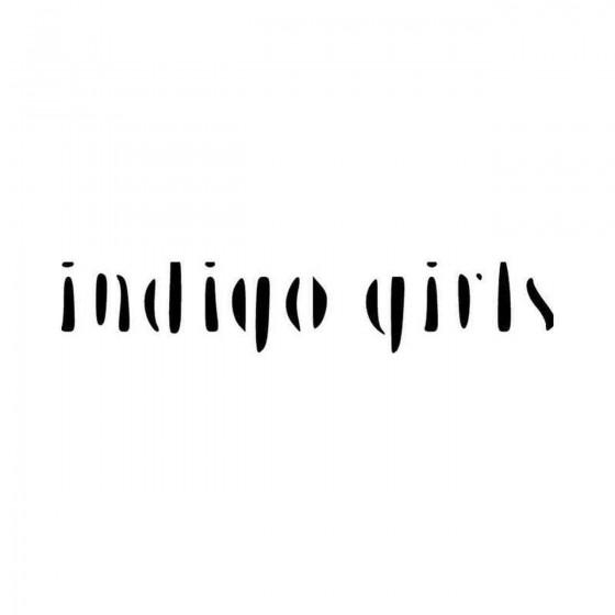 The Indigo Girls Band Logo...
