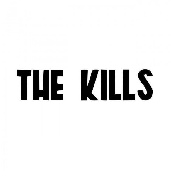 The Kills Rock Band Logo...