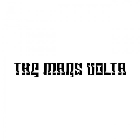 The Mars Volta Logo Vinyl...