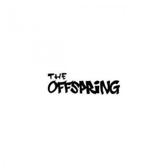 The Offspring Simple Decal...