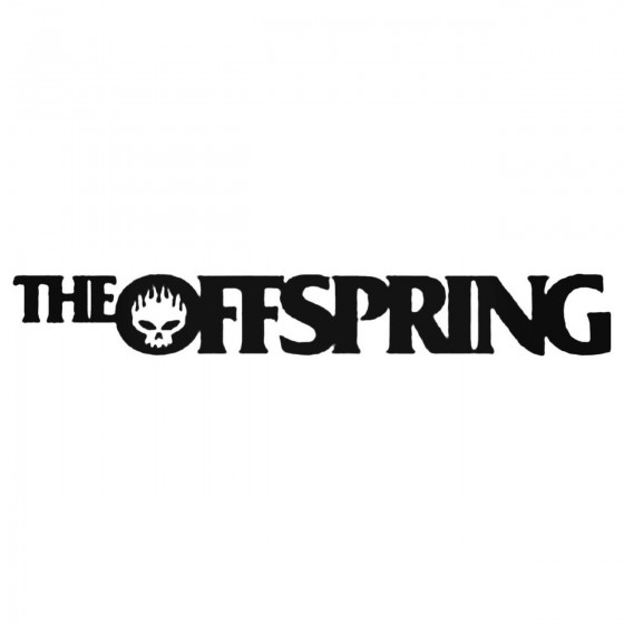 The Offspring Text Decal...