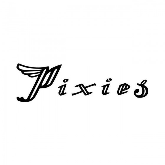 The Pixies Logo Vinyl Decal...